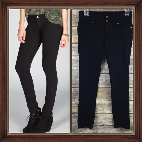 f3139c63b95b0 Shinestar Black Skinny Jegging Jeans Size Medium. M_5b1e860904e33d8e7f54ce7c